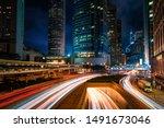Street Traffic In Hong Kong At...