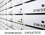 condominium mailboxes | Shutterstock . vector #149167370