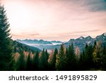fall is coming in the italian... | Shutterstock . vector #1491895829