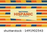 national hispanic heritage...   Shutterstock .eps vector #1491902543