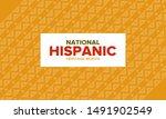 national hispanic heritage...   Shutterstock .eps vector #1491902549