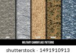 Military Camouflage Pattern...