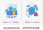 business and finance concept... | Shutterstock .eps vector #1491914186