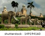 the palace   lost city  sun city | Shutterstock . vector #149194160