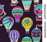 aerostats vector seamless... | Shutterstock .eps vector #149194940