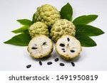 Custard Apple Tropical Fruit...