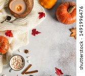 Autumn Thanksgiving Composition ...