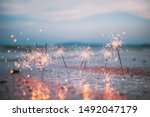 Beautiful Sparklers On The...