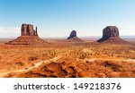 monument valley under the blue... | Shutterstock . vector #149218376