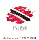 flag of trinidad and tobago.... | Shutterstock .eps vector #1492217330