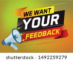 we want your feedback speech...