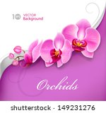 Stock vector flower orchid vector eps 149231276