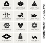 triangles symbols and graphic... | Shutterstock .eps vector #149232590