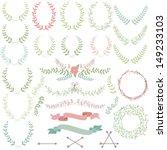 vector collection of laurels ... | Shutterstock .eps vector #149233103