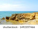 Gouves Coastal Town In Crete...