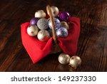Basket Full Of Shiny Handmade...