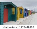 Beach Huts At Hartlepool  Very...