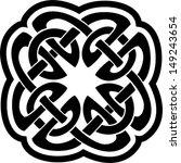 celtic ornament    Shutterstock .eps vector #149243654