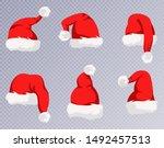 Christmas Santa Claus Hats With ...