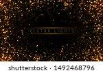 light abstract glowing bokeh... | Shutterstock .eps vector #1492468796
