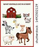 children educational game. what ...   Shutterstock .eps vector #1492502129