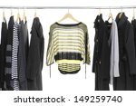 female fashion clothing on... | Shutterstock . vector #149259740