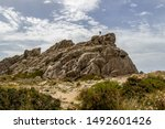 Landscape With Rock Formation ...