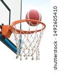 Basketball Victory  A Ball...