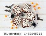 Plate Of Halloween Mummy...