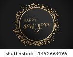 happy new year illustration.... | Shutterstock .eps vector #1492663496