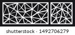 laser cutting template for... | Shutterstock .eps vector #1492706279