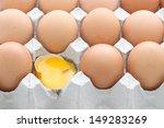 Raw Break Egg Contained Carton...
