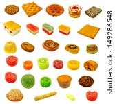 isolated image of different...   Shutterstock . vector #149286548