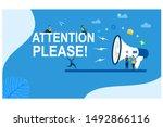website or landing page vector. ... | Shutterstock .eps vector #1492866116