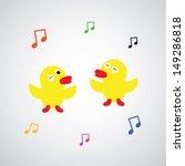 Duck Vector Cartoon Style For...