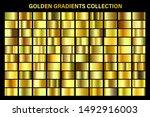 golden  yellow glossy gradient  ...   Shutterstock .eps vector #1492916003