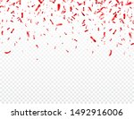 christmas  valentines day red... | Shutterstock .eps vector #1492916006