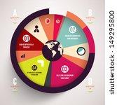 modern design infographic... | Shutterstock .eps vector #149295800