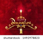 Happy Dussehra Greeting Card...
