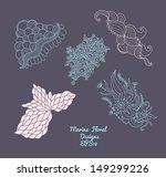 marine elements | Shutterstock .eps vector #149299226