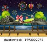 scene background design with...   Shutterstock .eps vector #1493002076