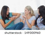friends laughing and chatting... | Shutterstock . vector #149300960