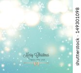 abstract christmas background... | Shutterstock .eps vector #149301098