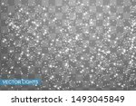 snowflakes  snow background.... | Shutterstock .eps vector #1493045849