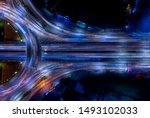 electron of traffic circle... | Shutterstock . vector #1493102033