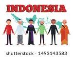 unity in diversiy. represent... | Shutterstock .eps vector #1493143583
