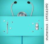 get your shot healthcare banner ...   Shutterstock .eps vector #1493161490