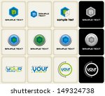 vector symbols related to... | Shutterstock .eps vector #149324738