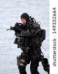 Постер, плакат: Dutch Special Forces combat