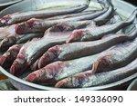 Small photo of Sheatfish sale at local market,Thailand ( Siluridae, Siluriformes )
